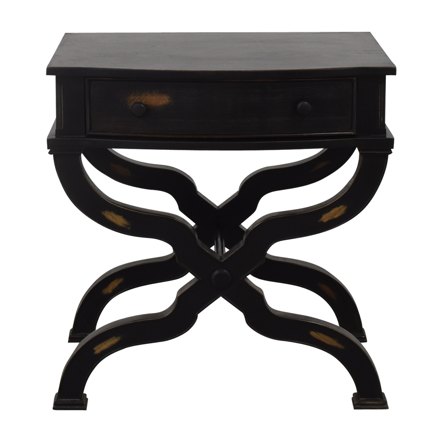 shop Nieman Marcus Distressed End Table Neiman Marcus End Tables