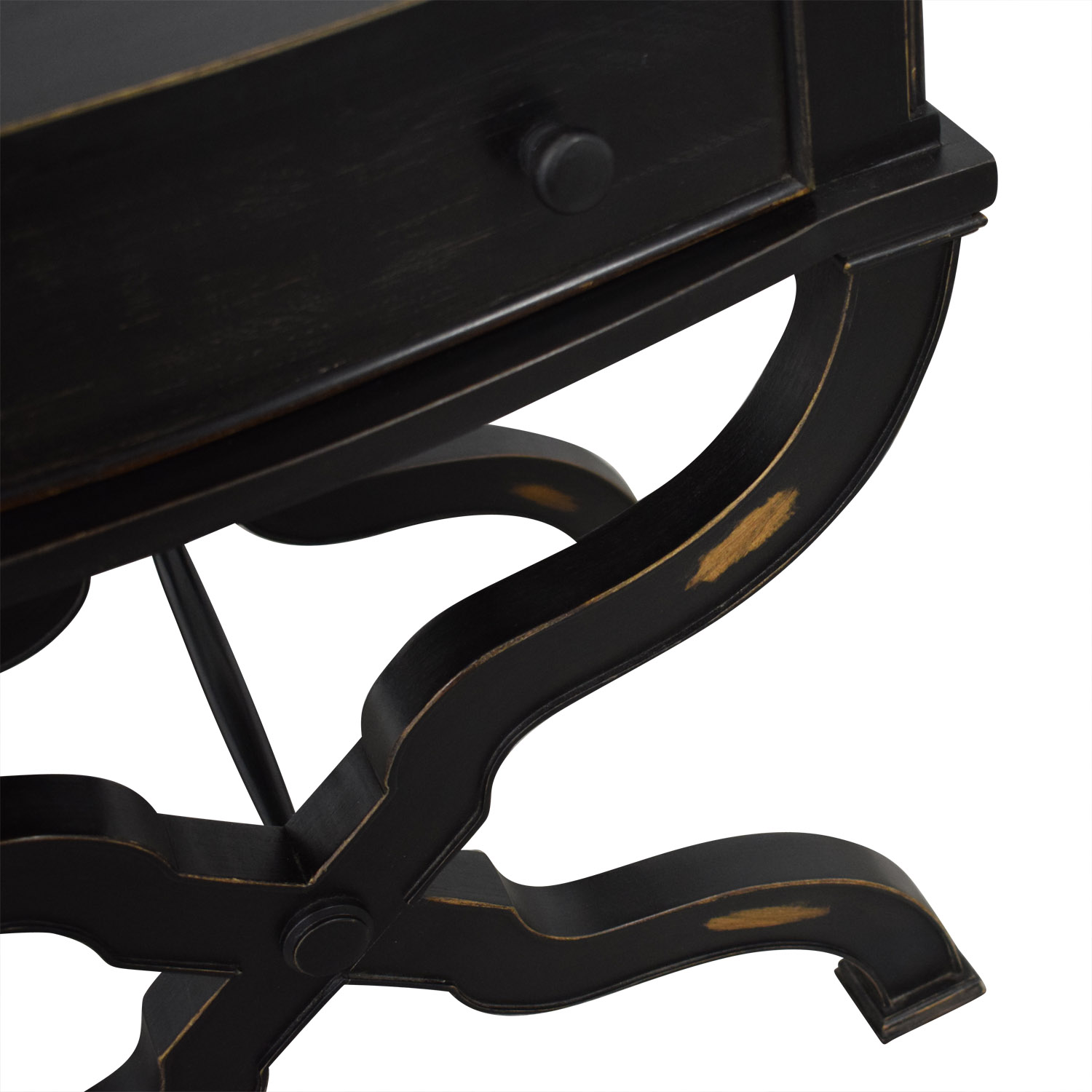 Nieman Marcus Distressed End Table / Tables