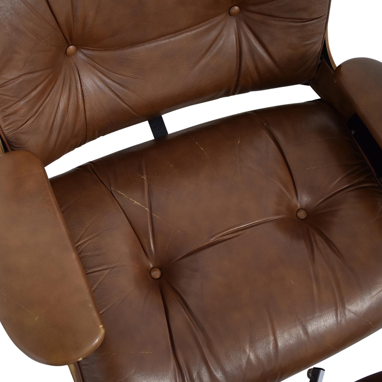 Charlton Replica Eames Chair & Ottoman Accent Chairs
