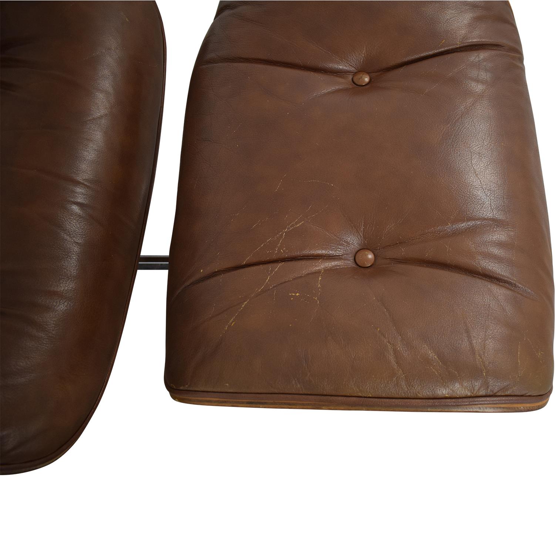 Charlton Replica Eames Chair & Ottoman nyc