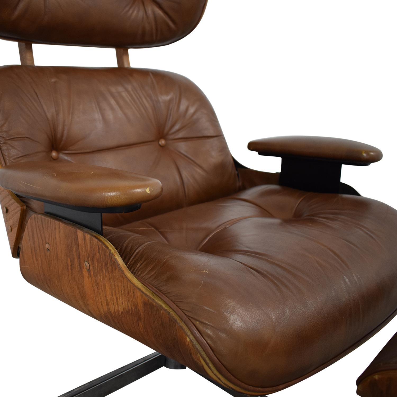 Charlton Replica Eames Chair & Ottoman