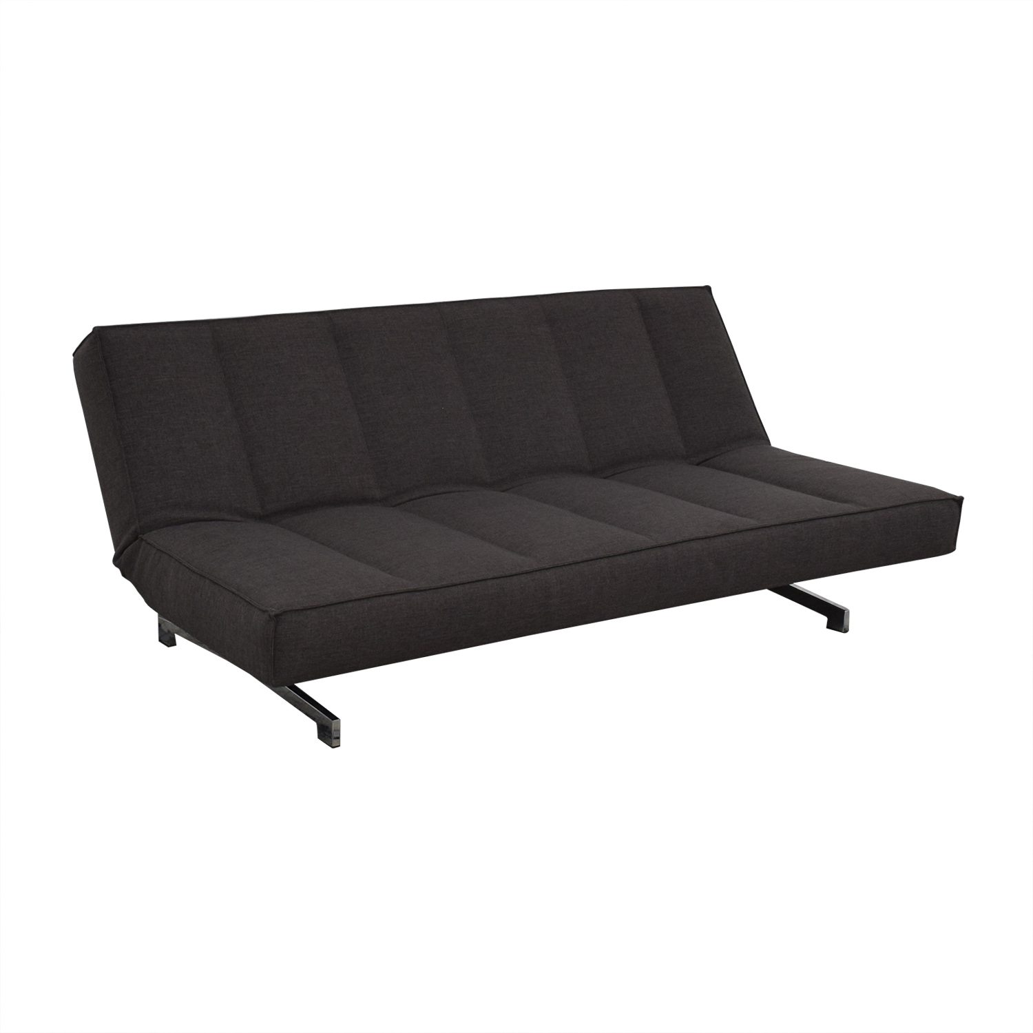 CB2 CB2 Flex Gravel Convertible Sofa nyc
