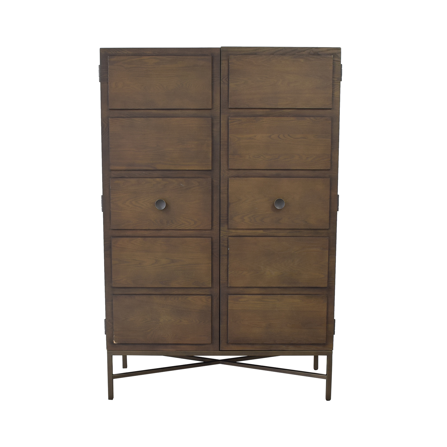 West Elm West Elm Panelled Armoire nyc