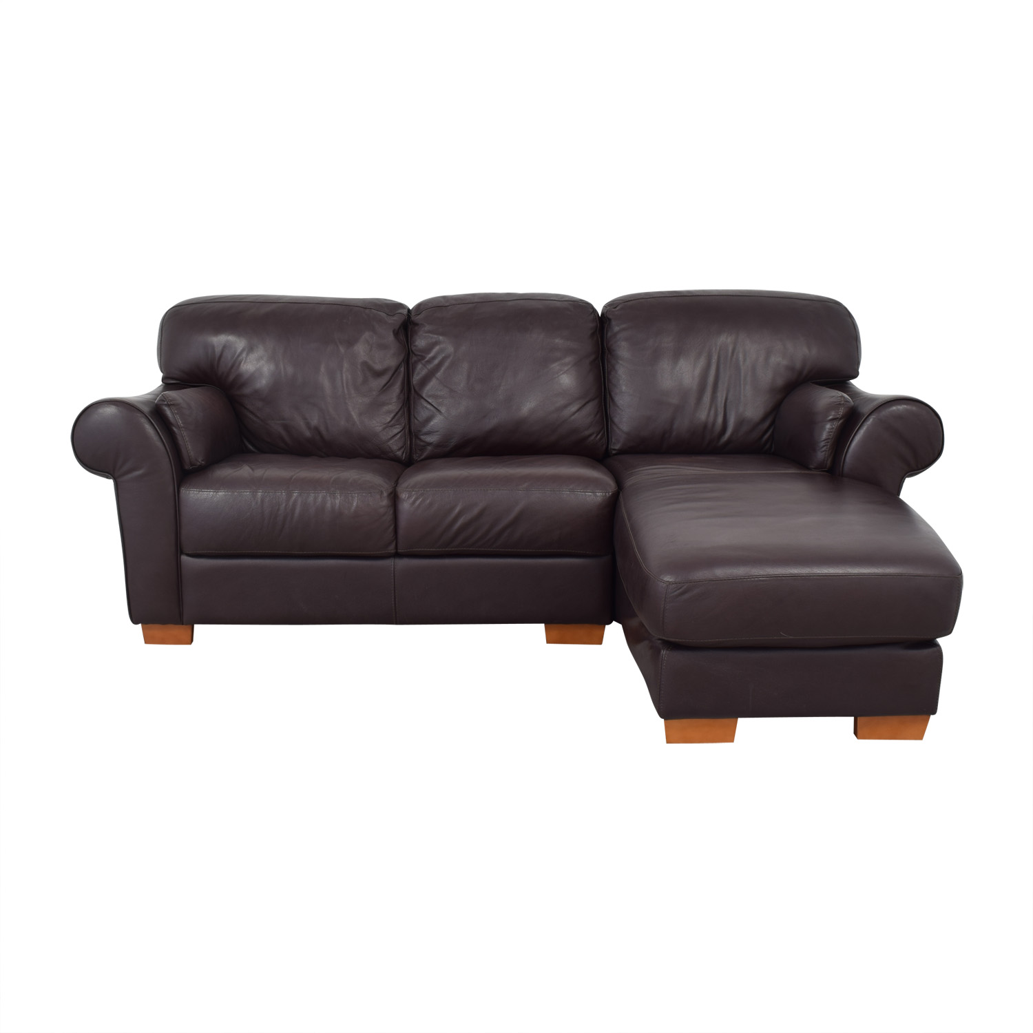 buy Raymour & Flanigan Chaise Sectional Sofa Raymour & Flanigan