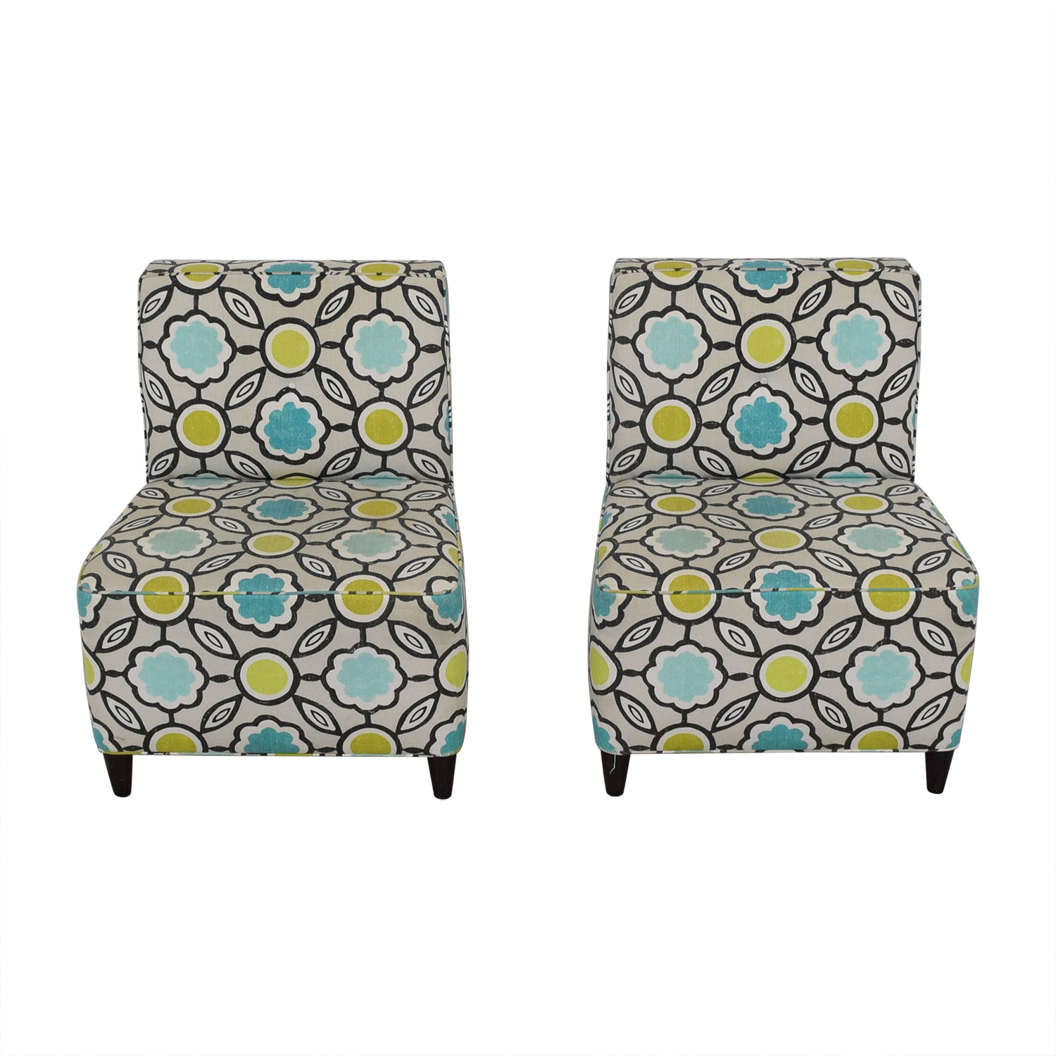 Stewart Furniture Armless Living Room Chairs / Accent Chairs