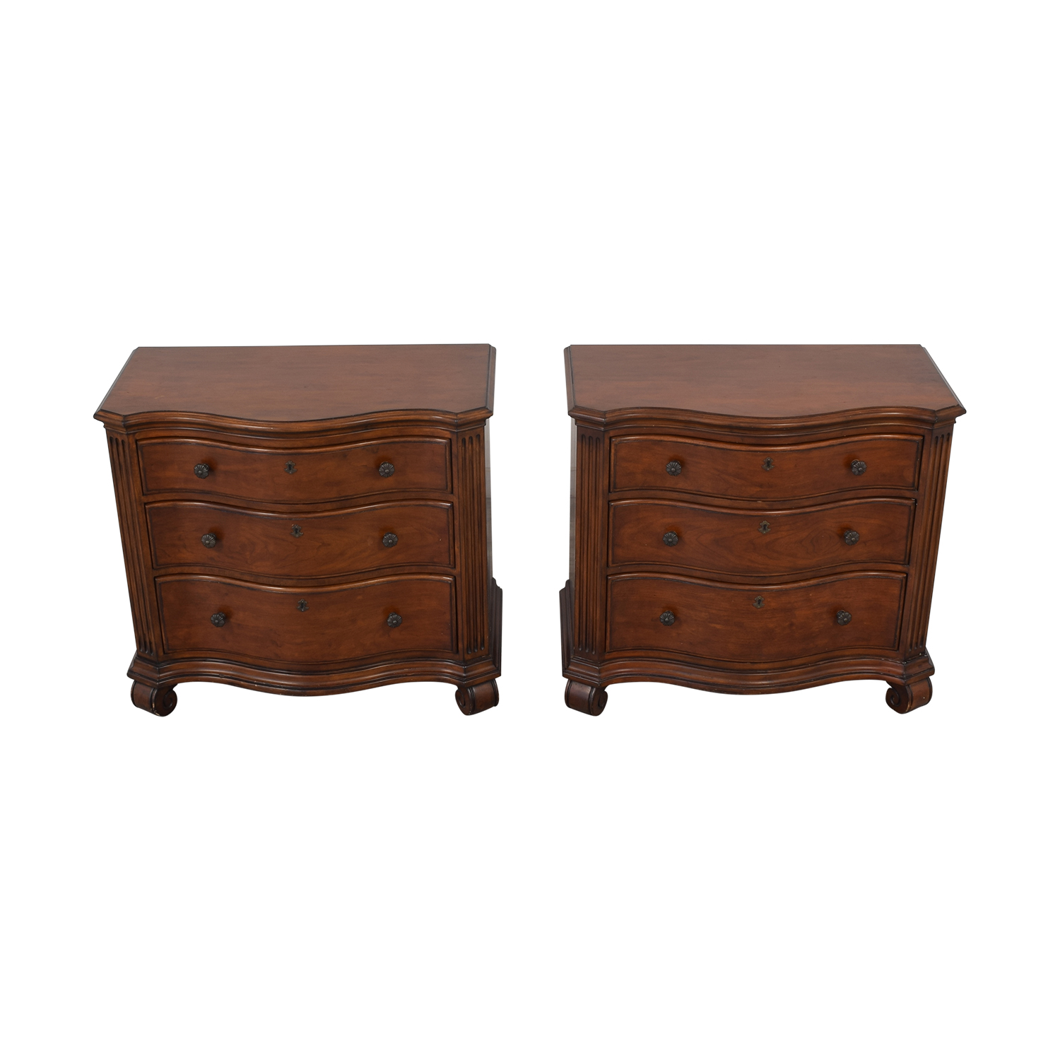 Ethan Allen Ethan Allen Tuscan Night Stands Tables