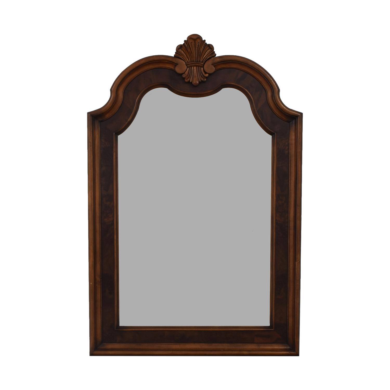 buy Ethan Allen Tuscan Wood Mirror Ethan Allen