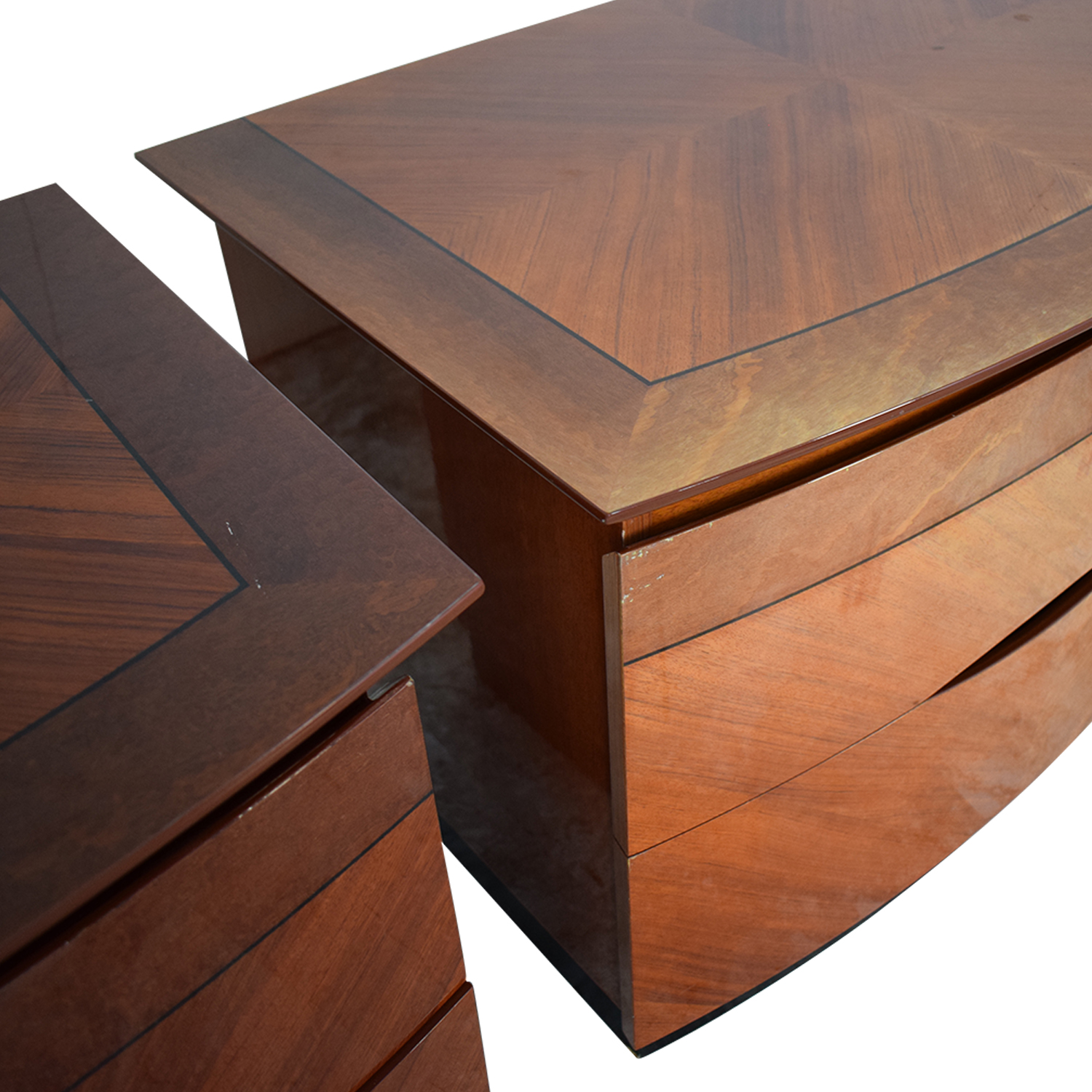 Two Drawer Nightstands sale