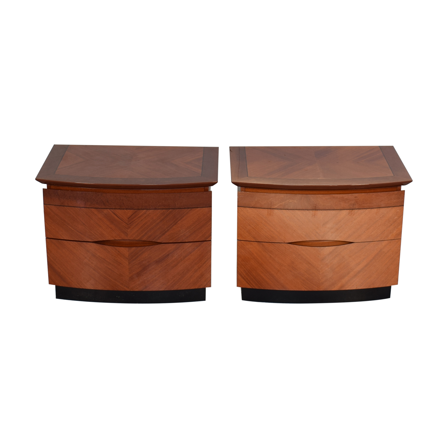 Two Drawer Nightstands on sale