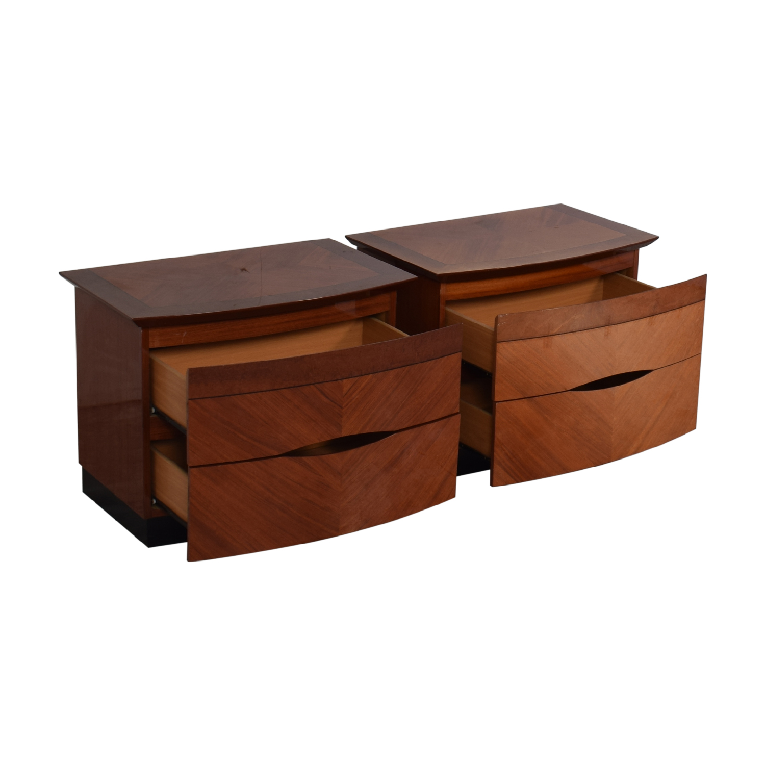 Two Drawer Nightstands second hand