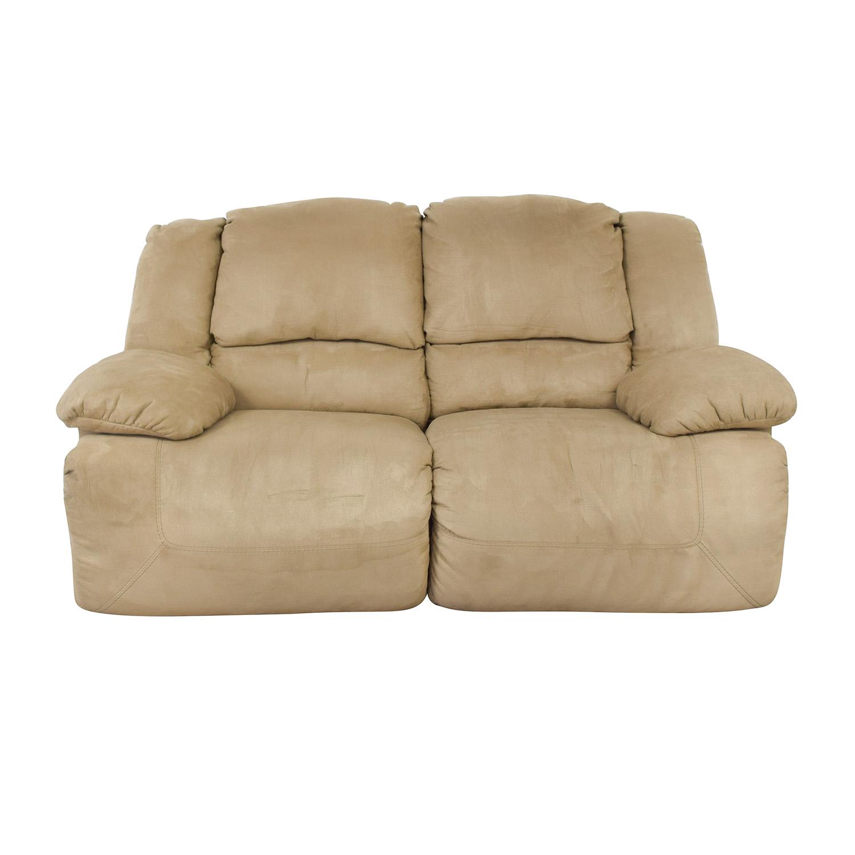 buy Ashley Furniture Hogan Reclining Loveseat Ashley Furniture