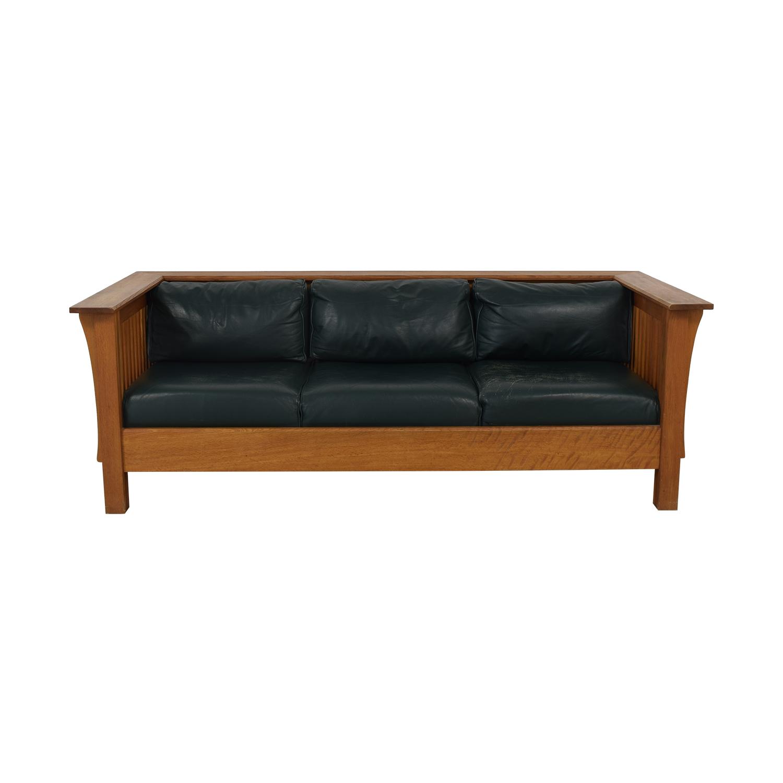 Wooden Mahogany Custom Sofa sale