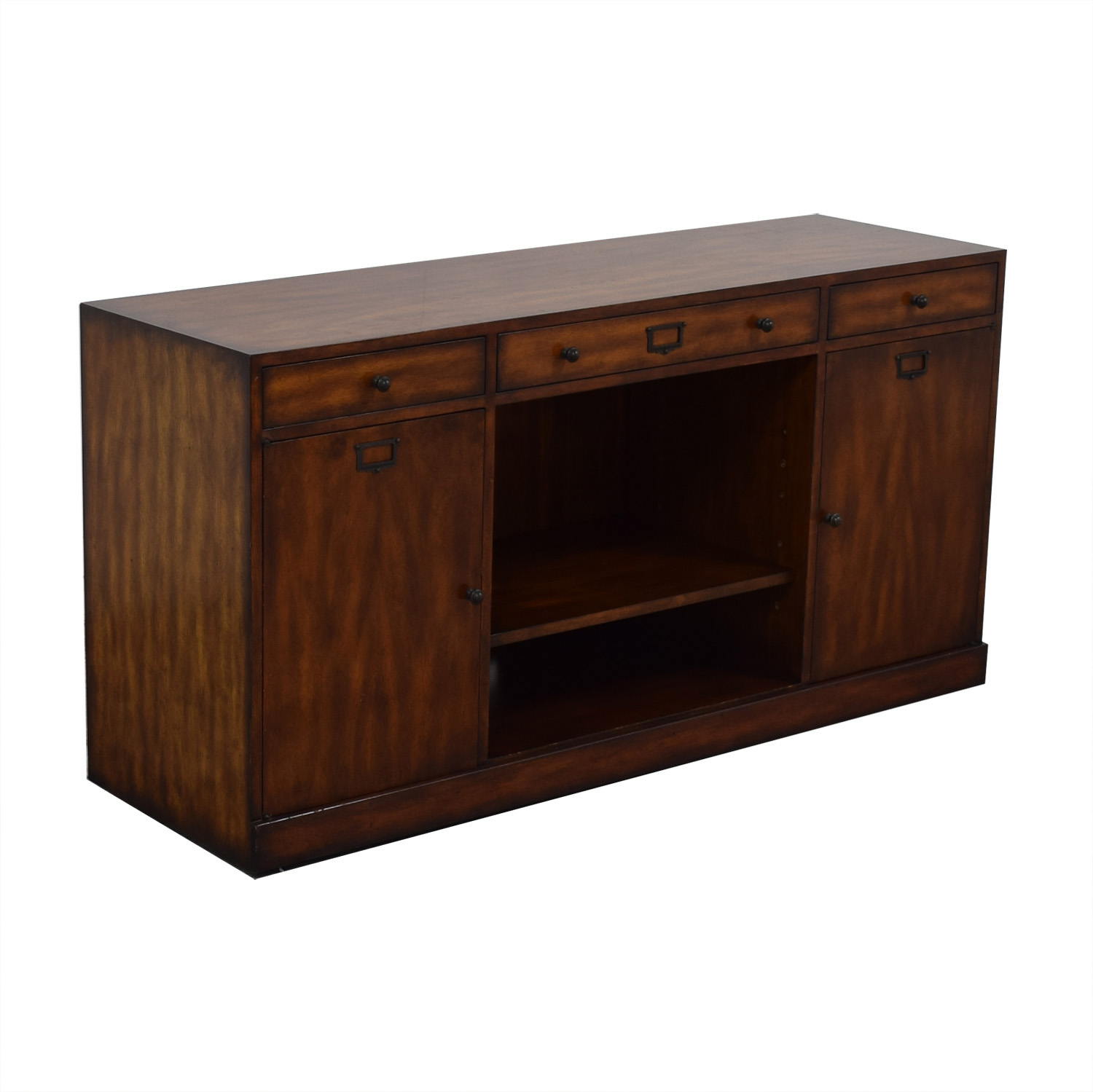 ABC Carpet & Home ABC Carpet & Home Three Drawer Media Console second hand
