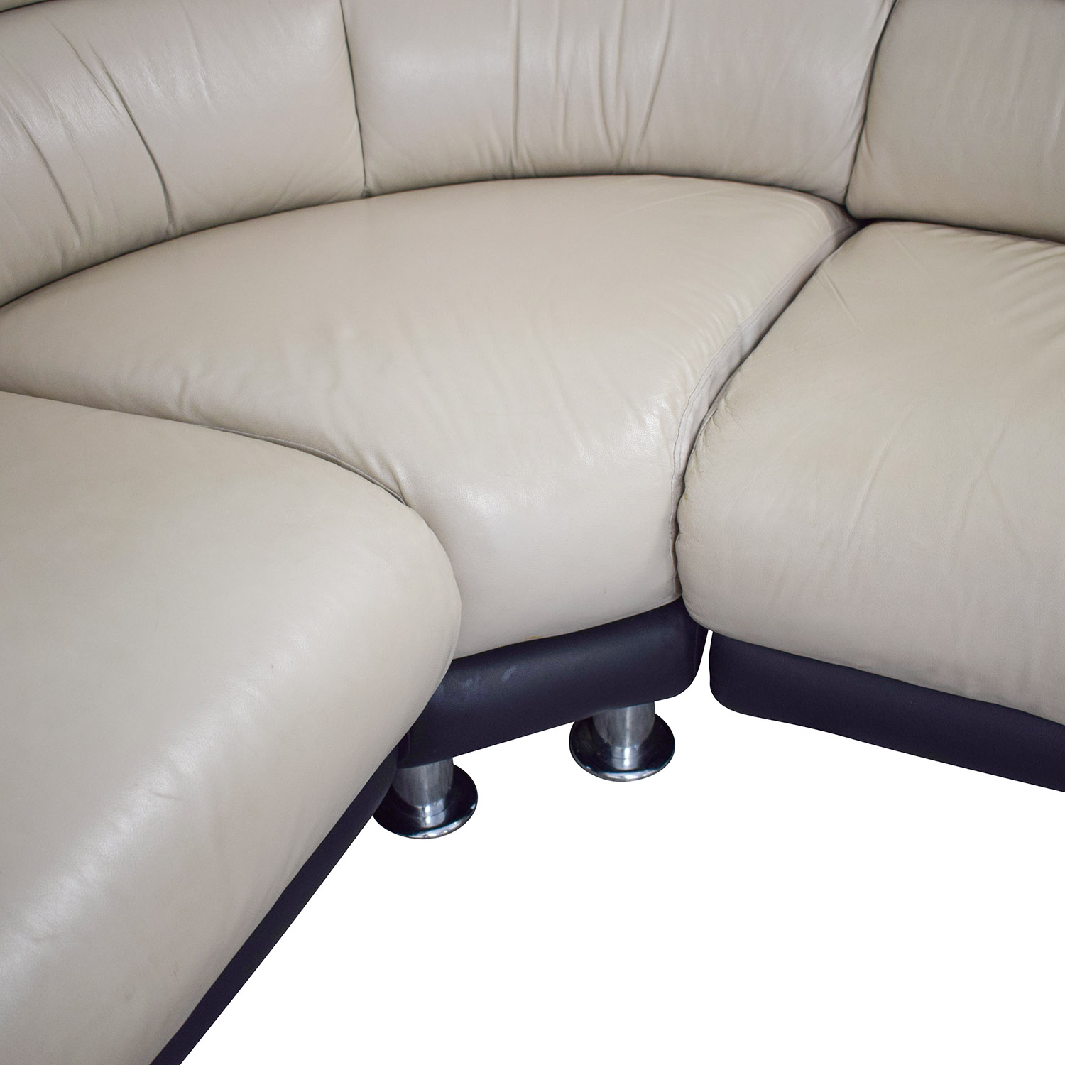 Two Toned L-Shaped Sectional price