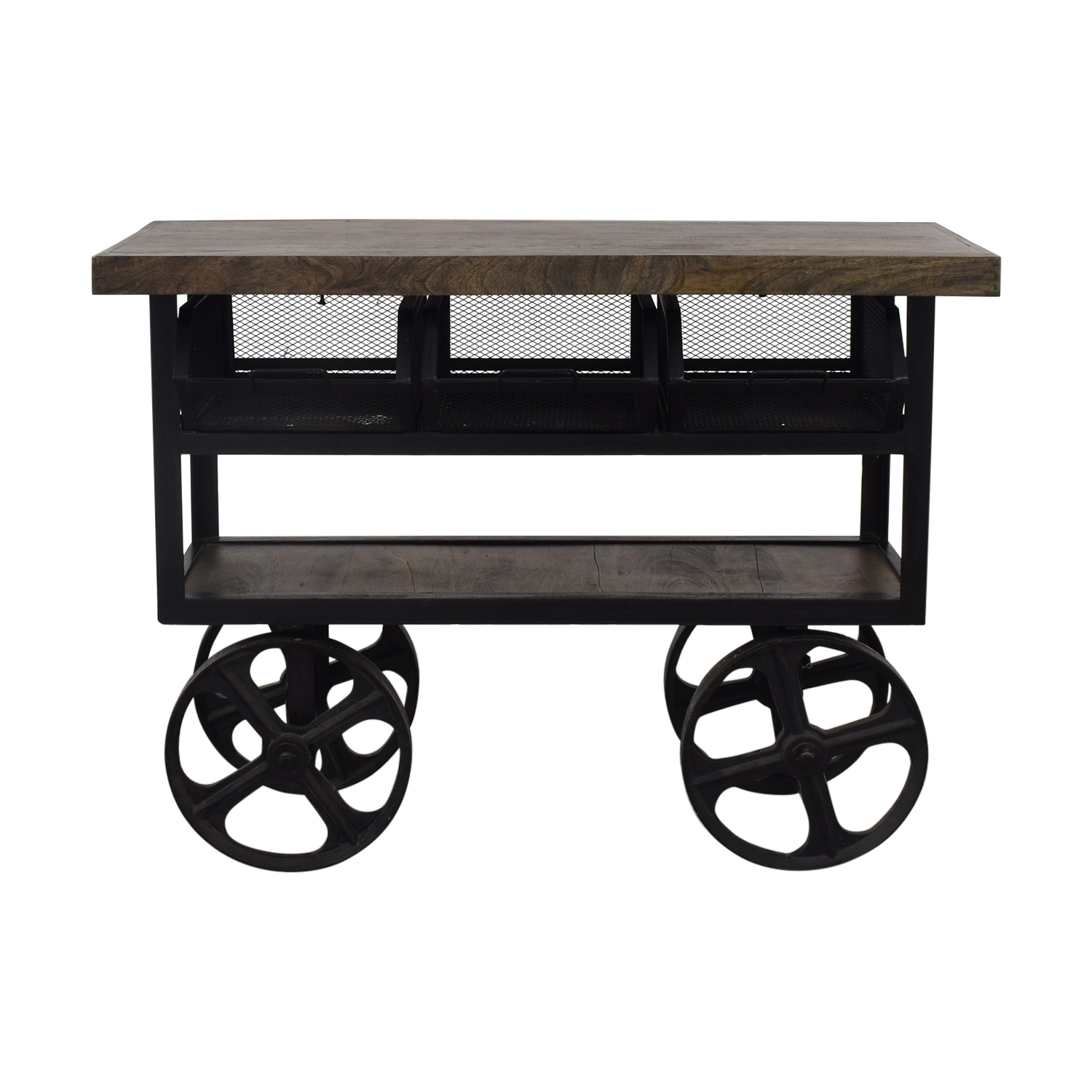 Coast to Coast Accents Drea Bar Cart Coast to Coast Accents