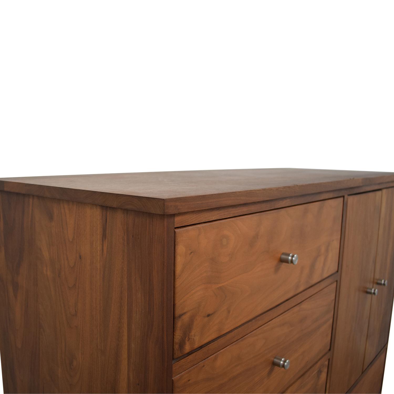 shop Room & Board Linear Storage Cabinet Dresser Room & Board