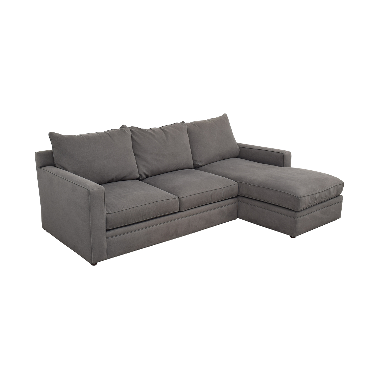 Room & Board Room & Board Orson Sectional Sofa with Chaise nj