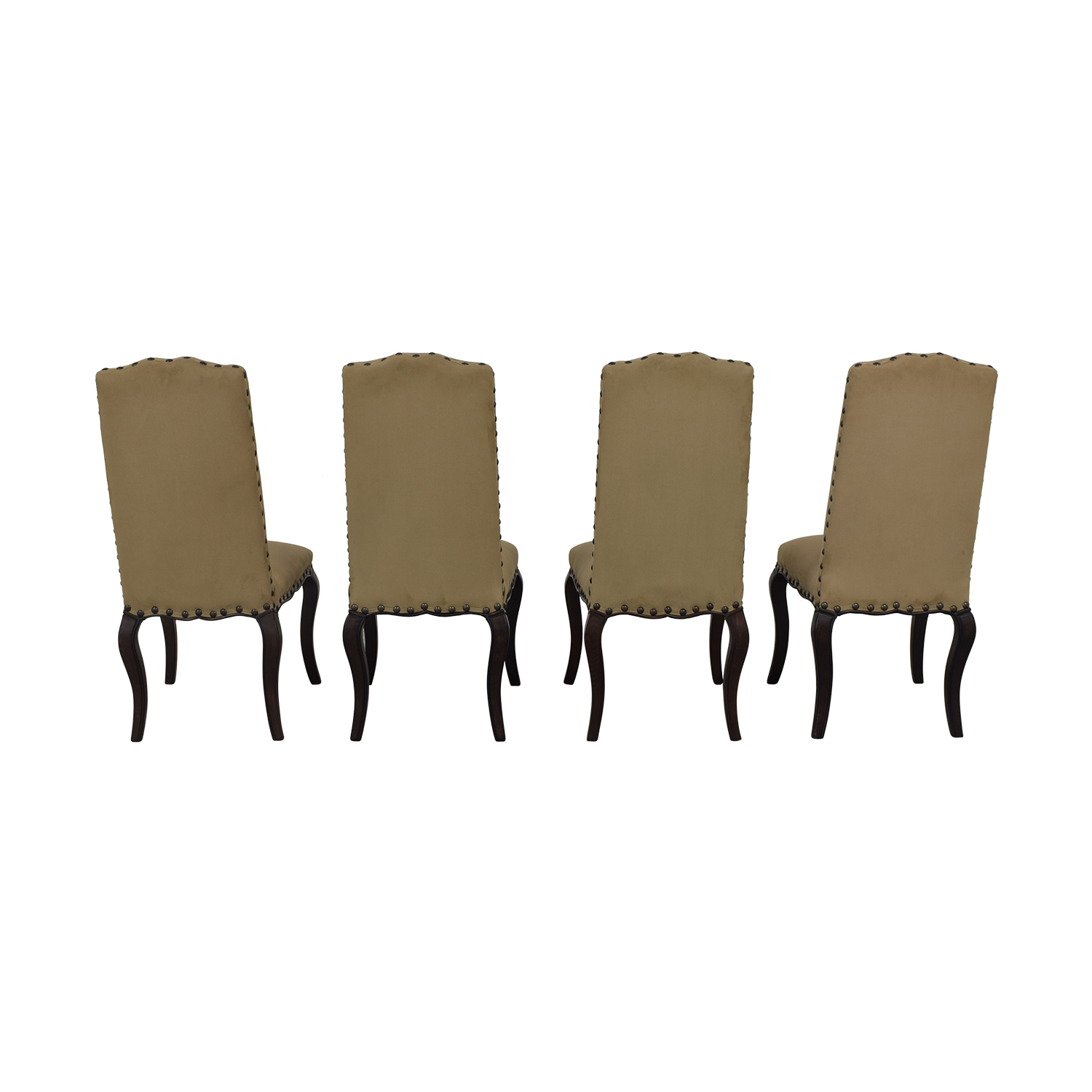 Pottery Barn Pottery Barn Calais Dining Chairs tan and brown