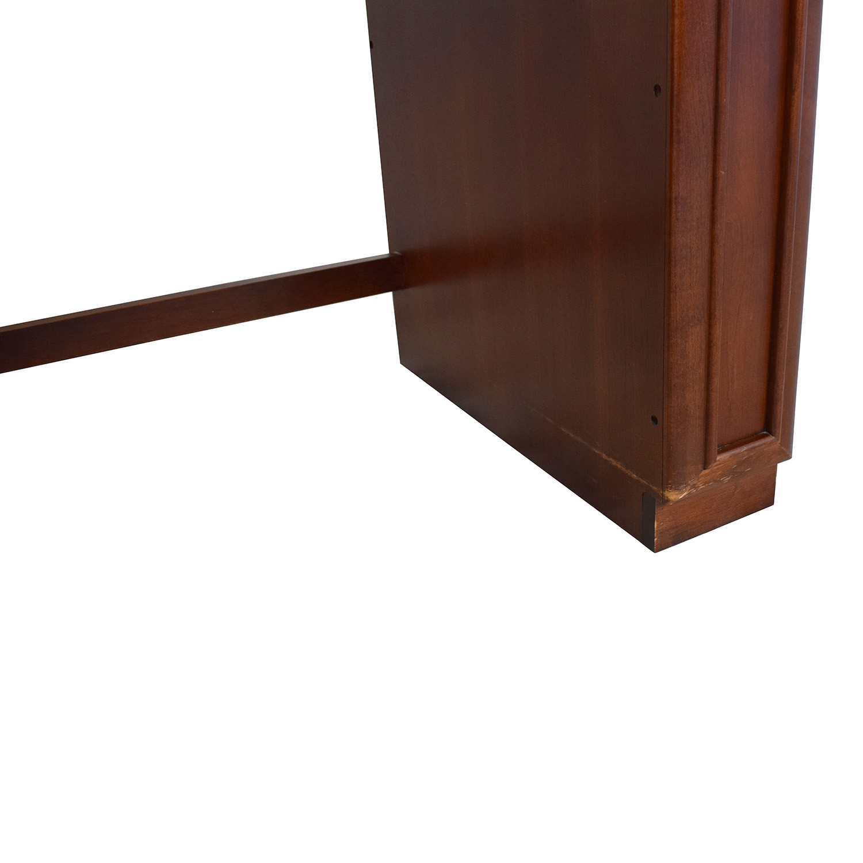 Stanley Furniture Stanley Furniture Pedestal Computer Desk brown