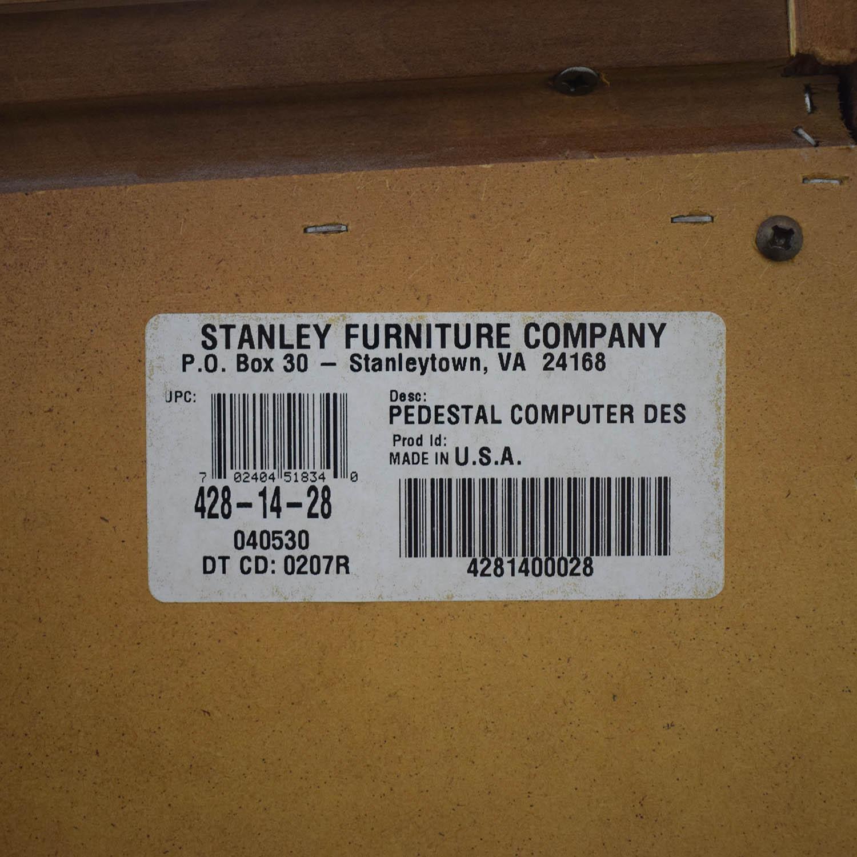 Stanley Furniture Pedestal Computer Desk Stanley Furniture