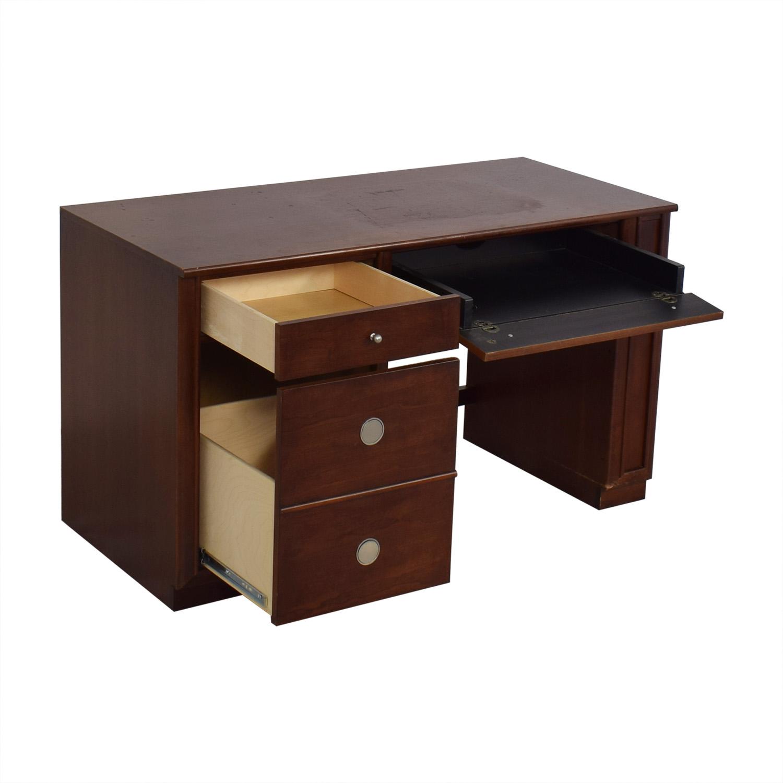 Stanley Furniture Stanley Furniture Pedestal Computer Desk for sale