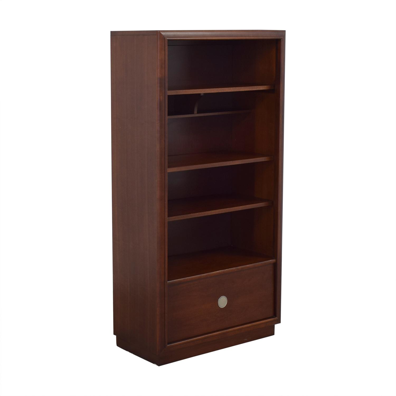 shop Stanley Furniture Bookshelf with Drawer Stanley Furniture Storage