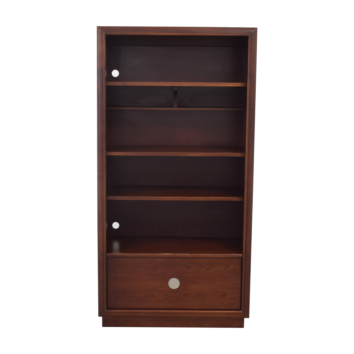 shop Stanley Furniture Bookshelf with Drawer Stanley Furniture Bookcases & Shelving