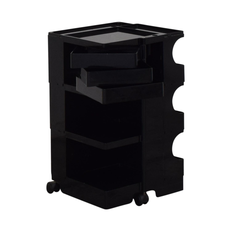 Bieffeplaste Bieffeplaste Joe Colombo Boby Storage Trolley black