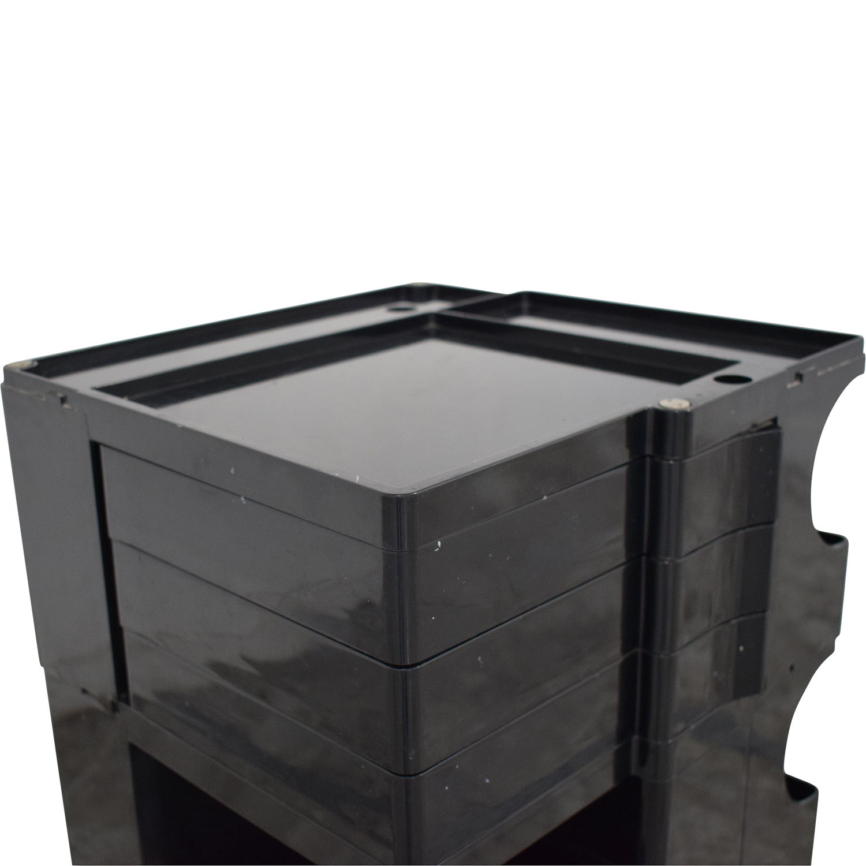 Bieffeplaste Bieffeplaste Joe Colombo Boby Storage Trolley dimensions