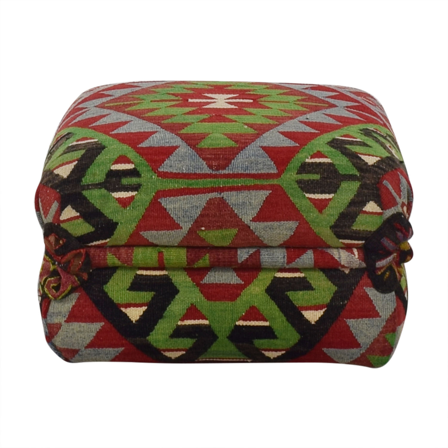 George Smith George Smith Kilim Ottoman nyc
