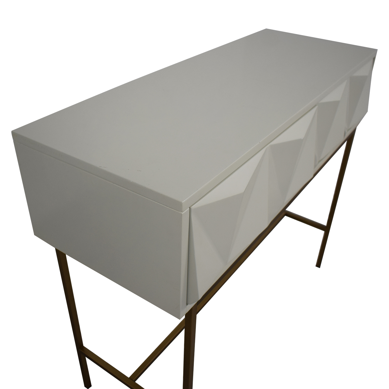 buy West Elm West Elm Sculpted Geo Console online