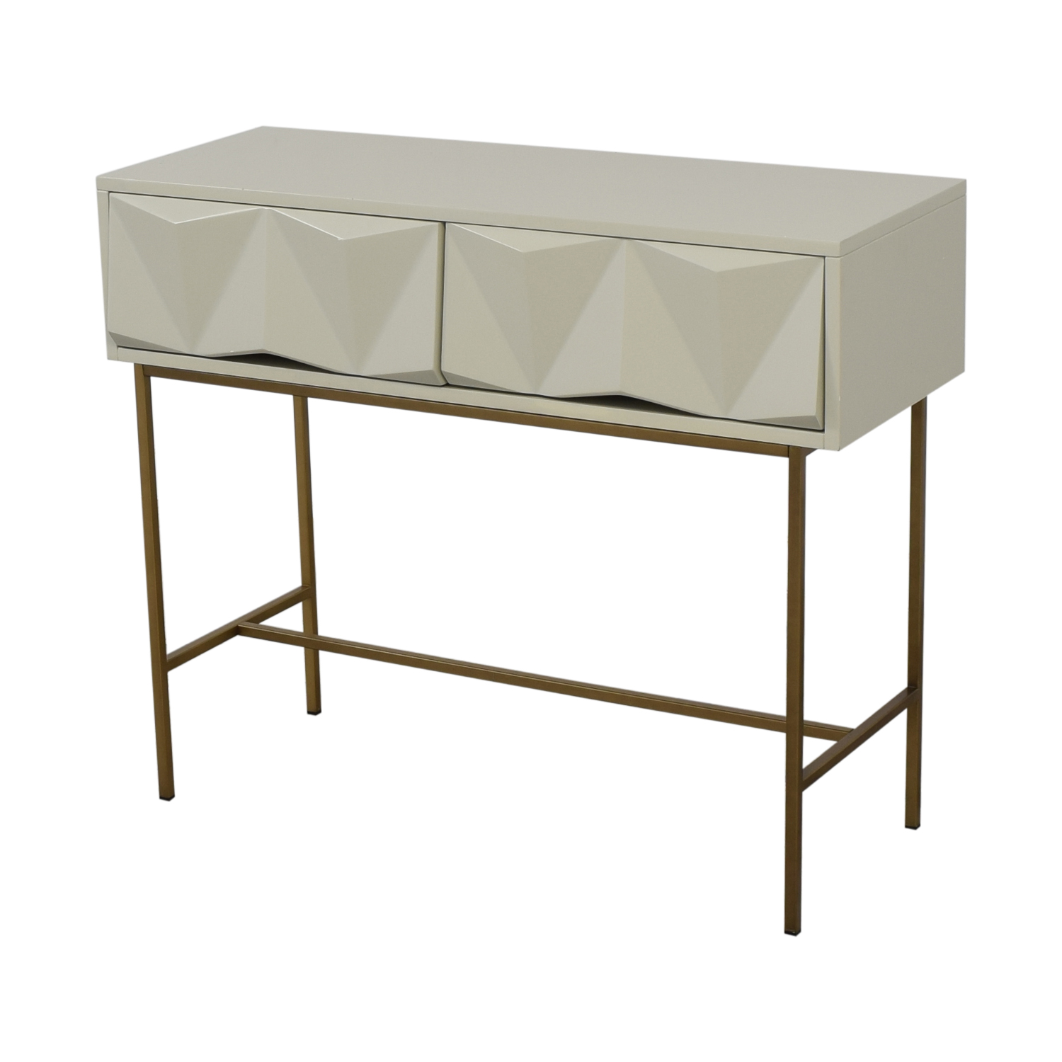 West Elm West Elm Sculpted Geo Console used