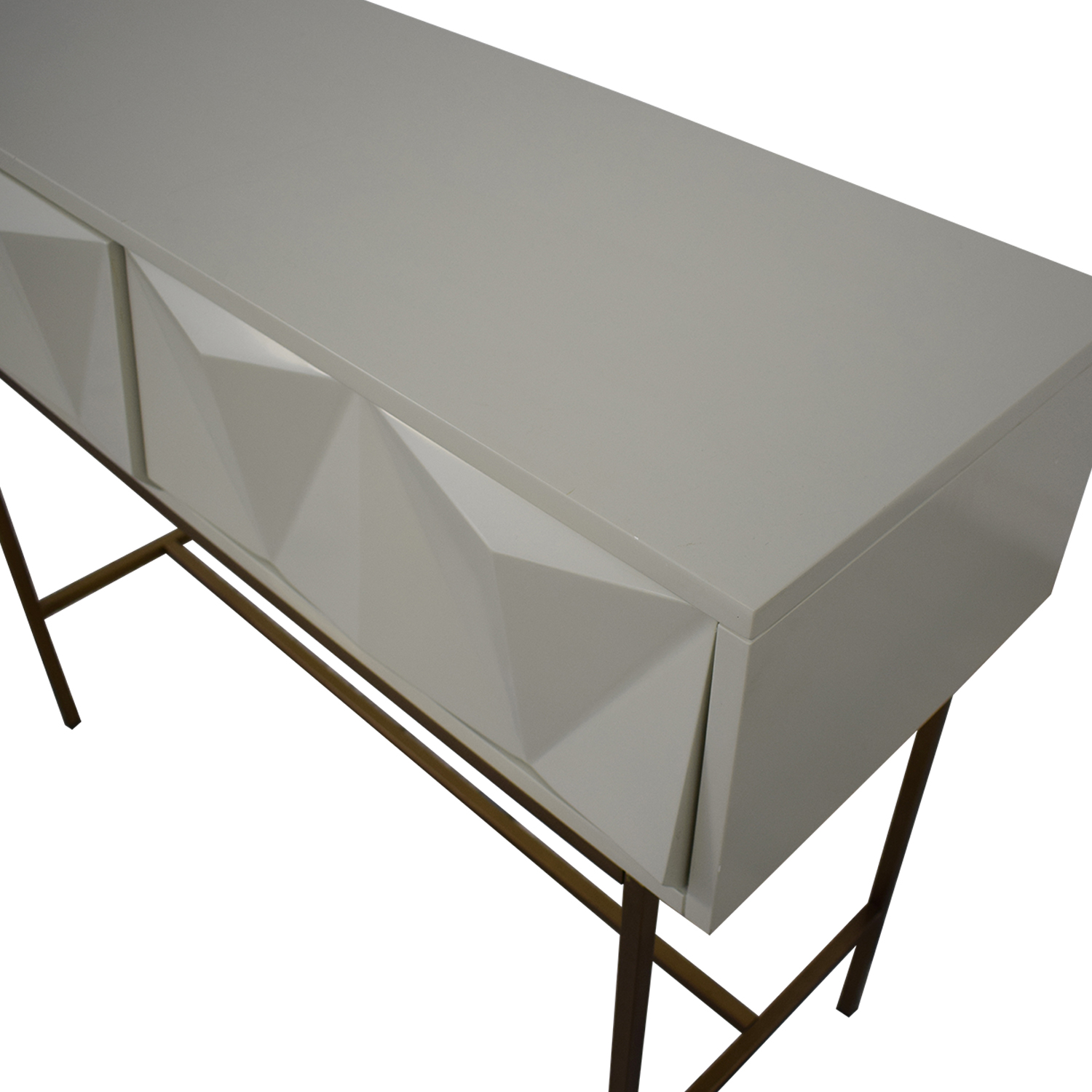 West Elm West Elm Sculpted Geo Console coupon