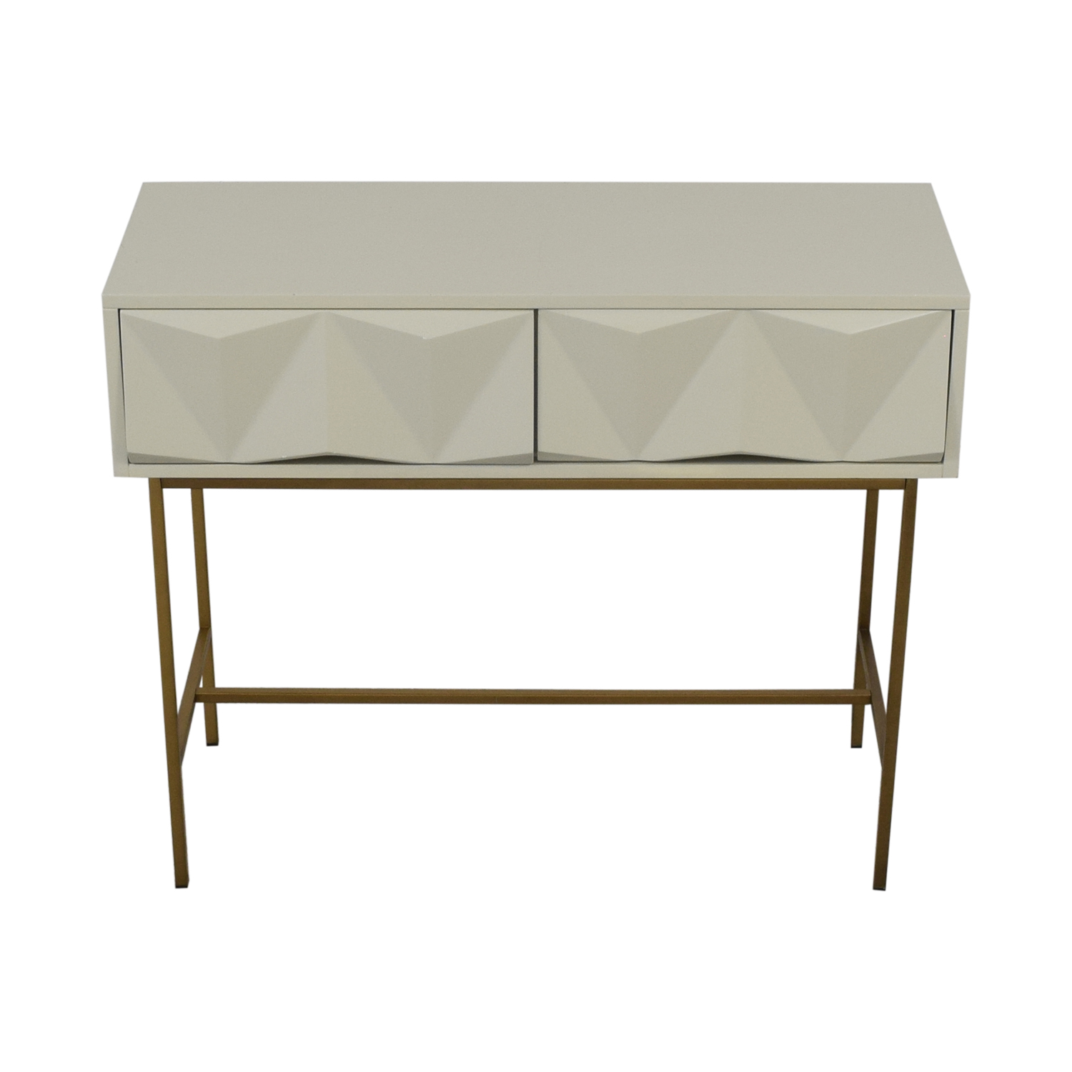 West Elm West Elm Sculpted Geo Console Accent Tables