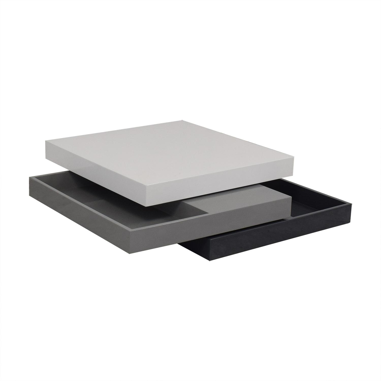 buy Elite Modern Modular Stacked Coffee Table Elite Modern Tables
