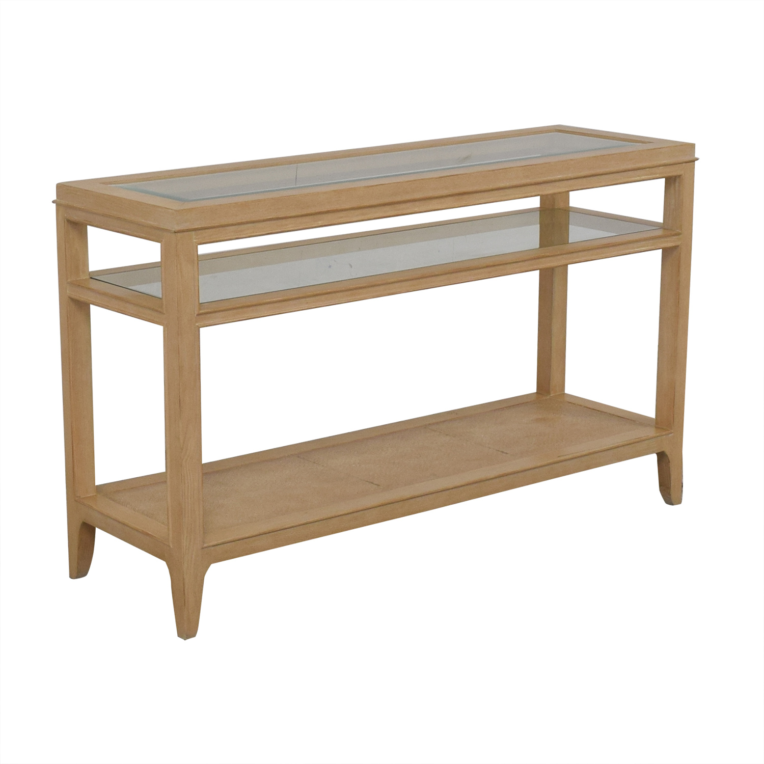 Domain Domain Three-Level Credenza Tables