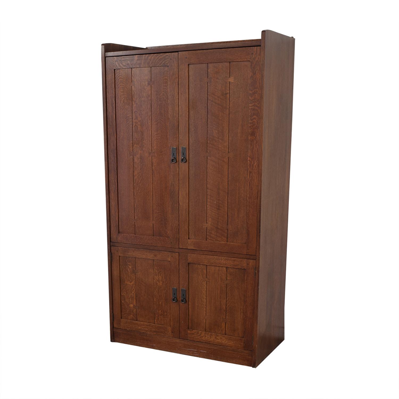 buy Stickley Furniture Entertainment Unit Stickley Furniture Storage