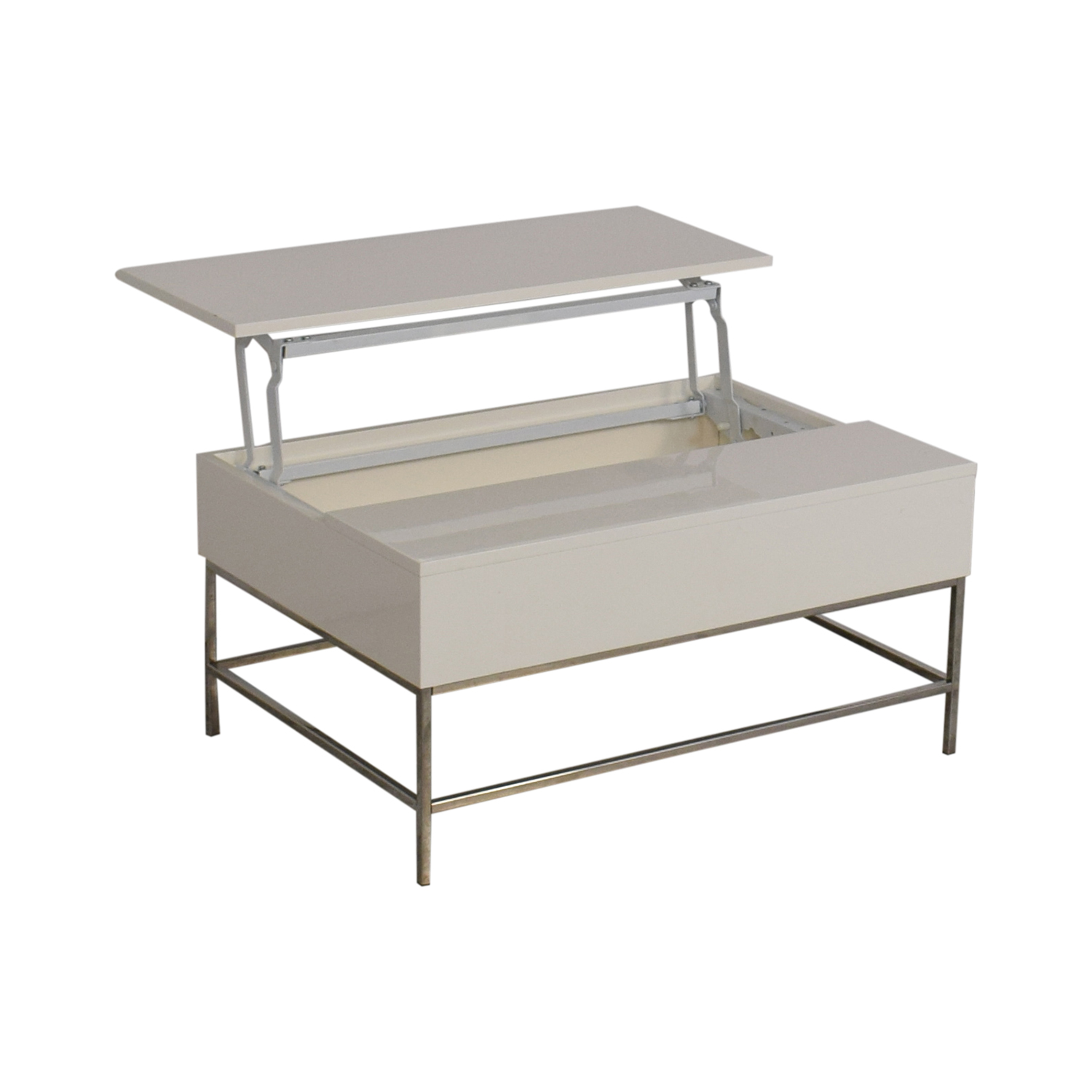 West Elm West Elm Lacquer Storage Coffee Table for sale