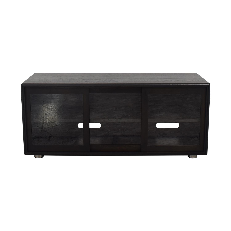 Crate & Barrel Crate & Barrel Media Cabinet black