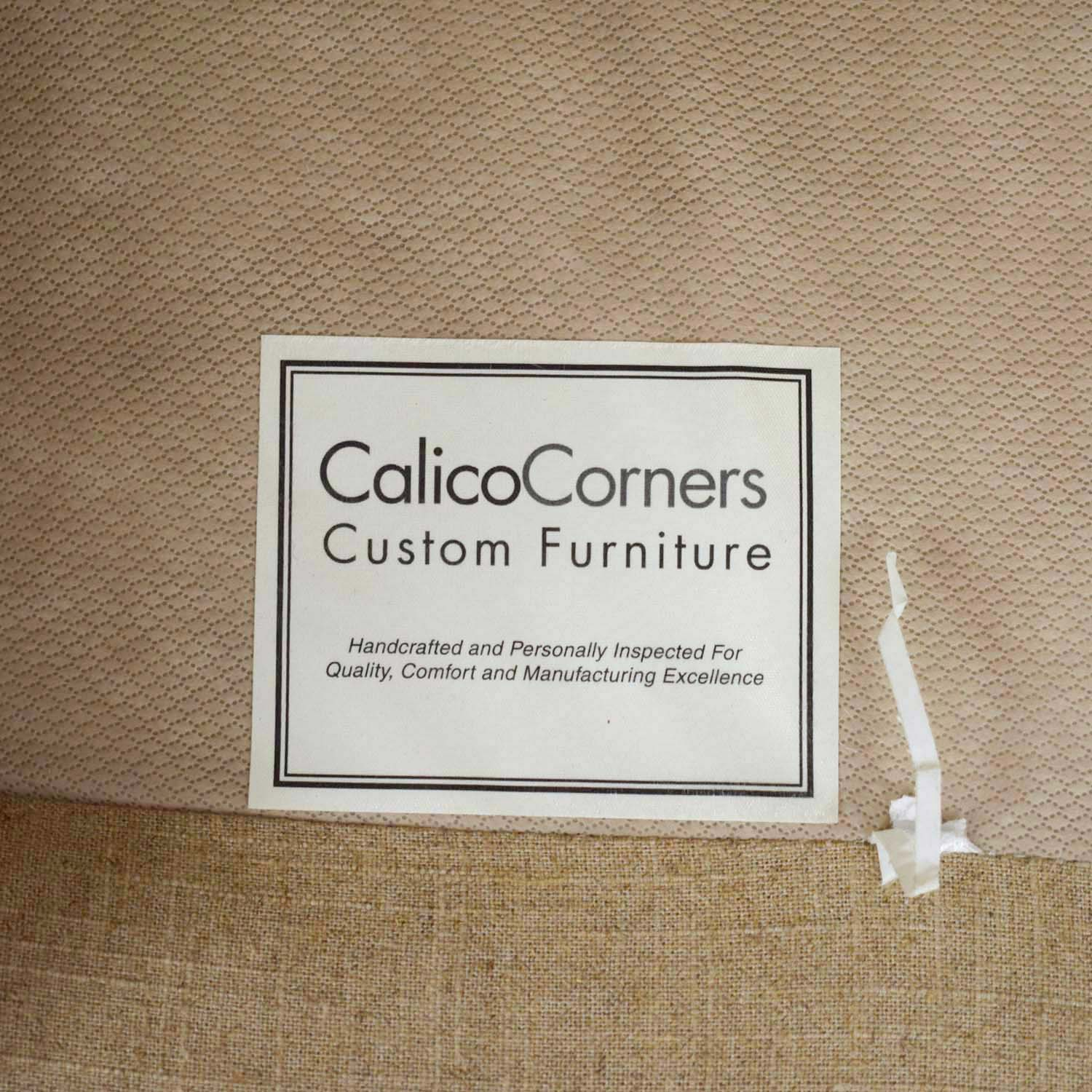 Callico Corner Armchair and Ottoman / Accent Chairs