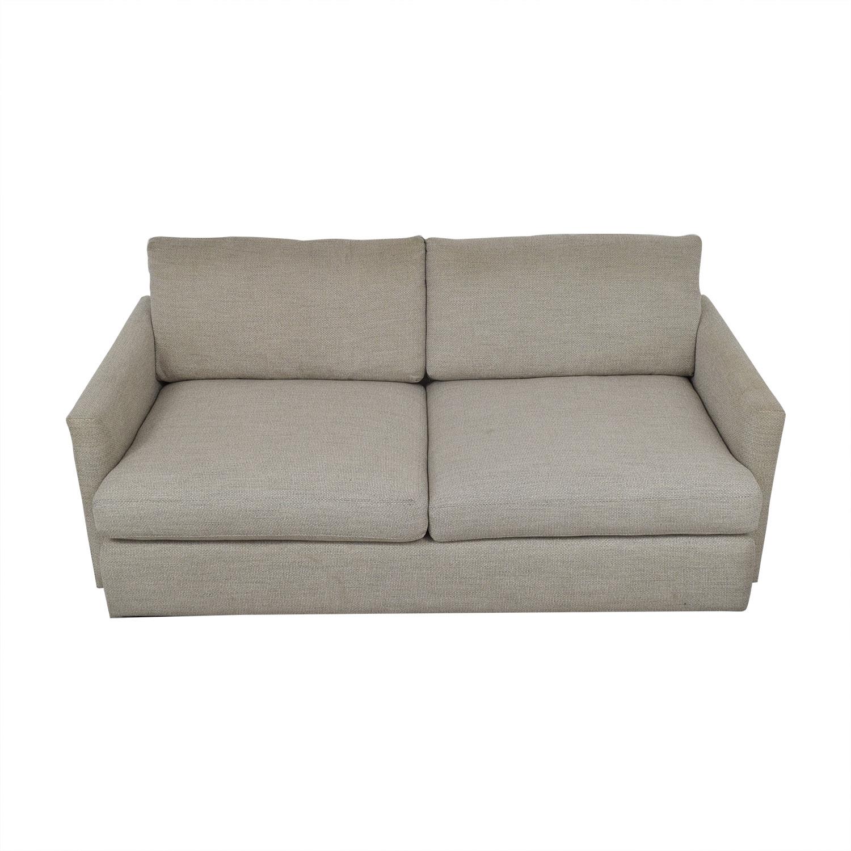 Crate & Barrel Crate & Barrel Lounge Sofa light grey