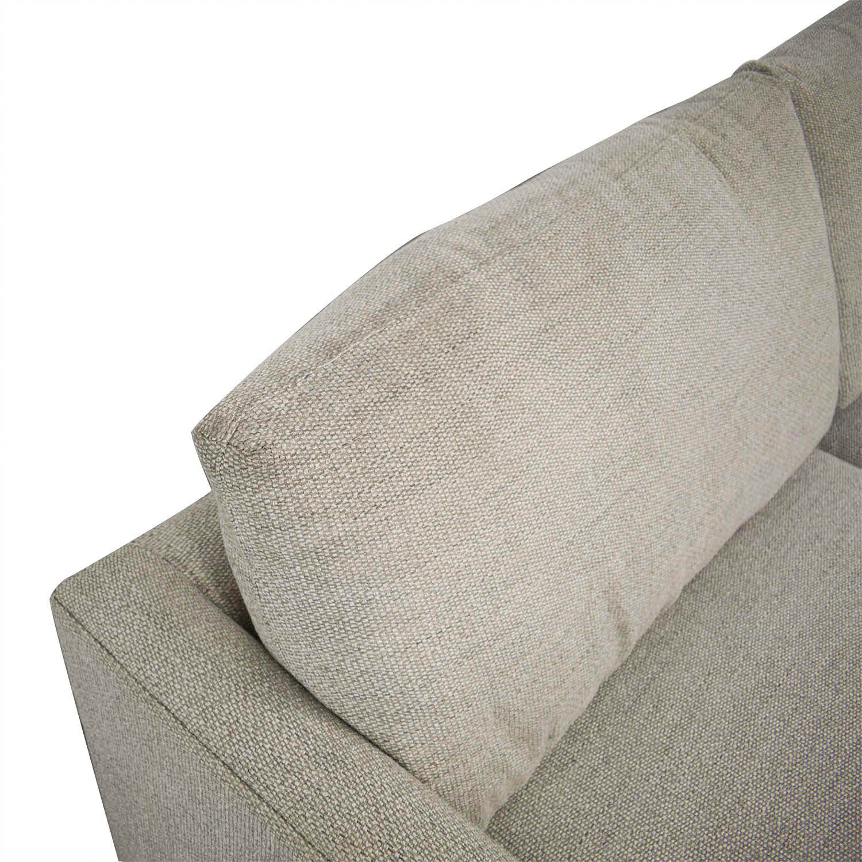 buy Crate & Barrel Lounge Sofa Crate & Barrel Sofas