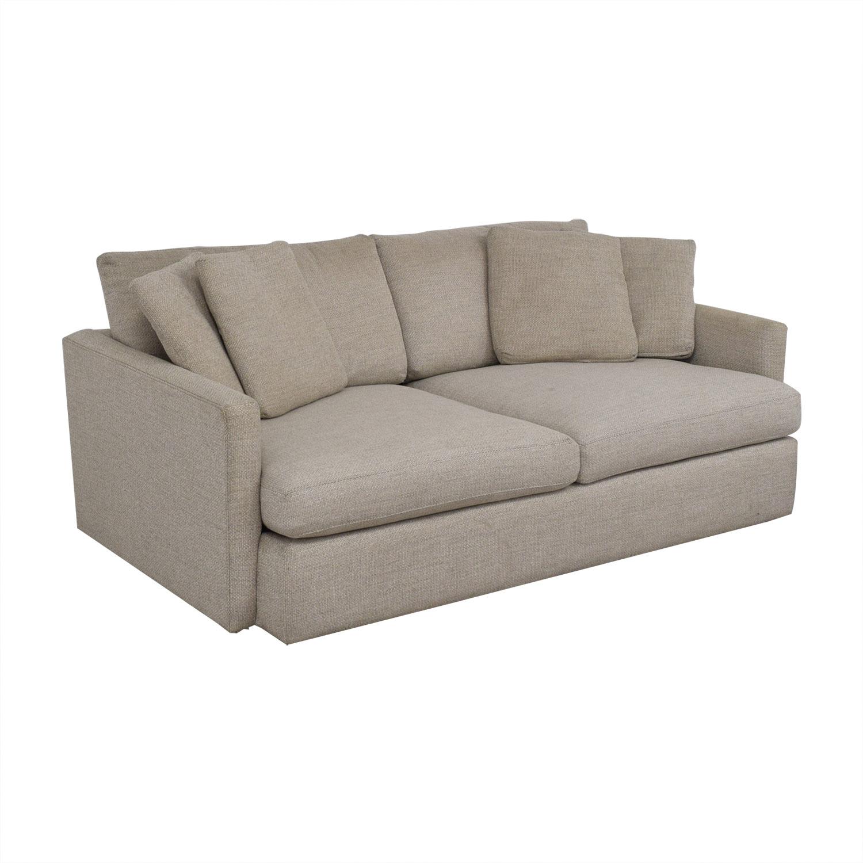 shop Crate & Barrel Lounge Sofa Crate & Barrel Sofas