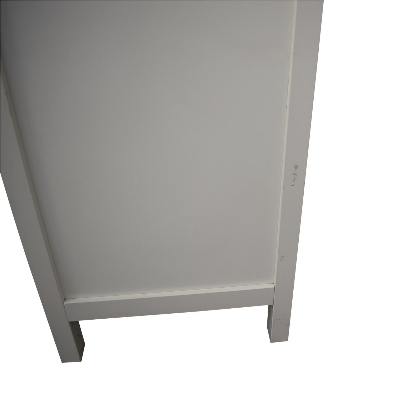 Pottery Barn White Wood Dresser / Dressers