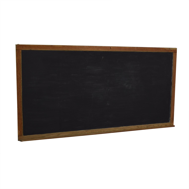Vintage Schoolhouse Chalkboard nyc