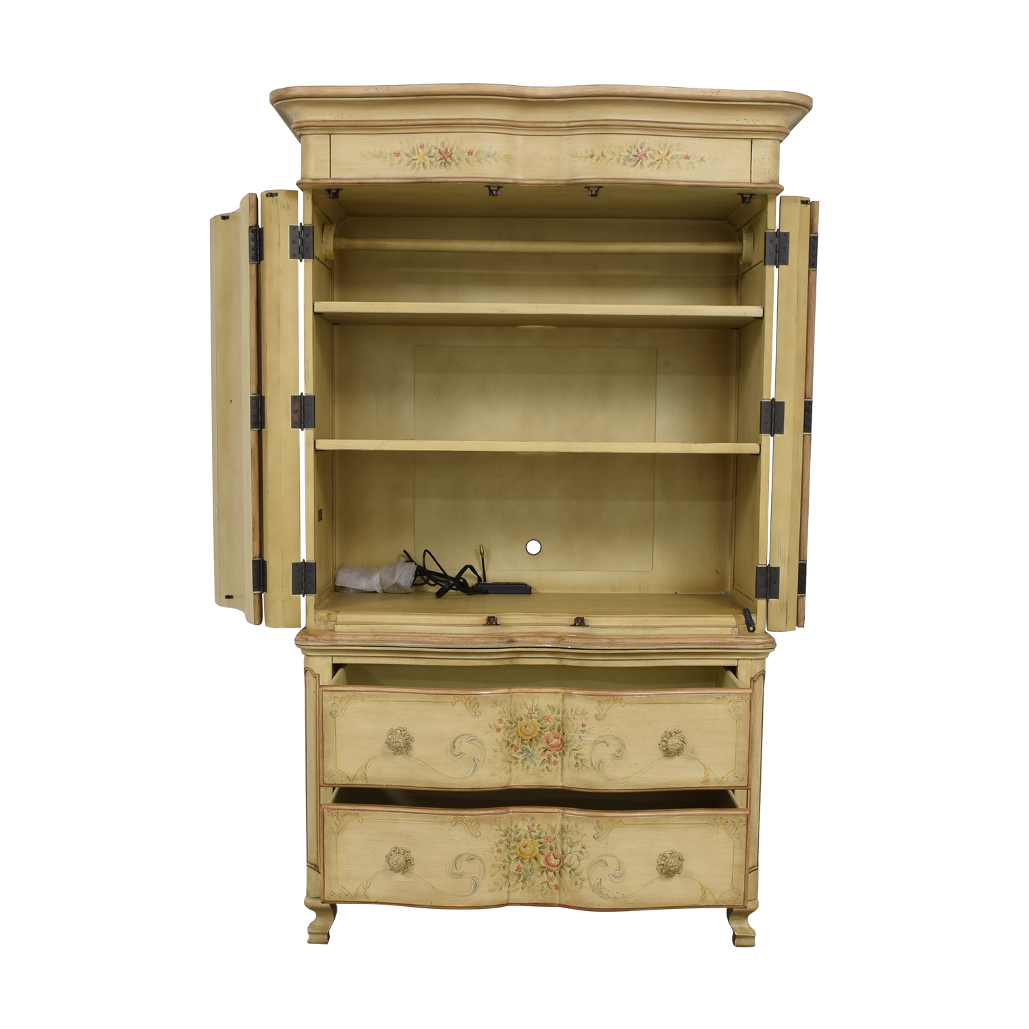 shop Domain Home Aurielle Painted Armoire Domain Home Wardrobes & Armoires