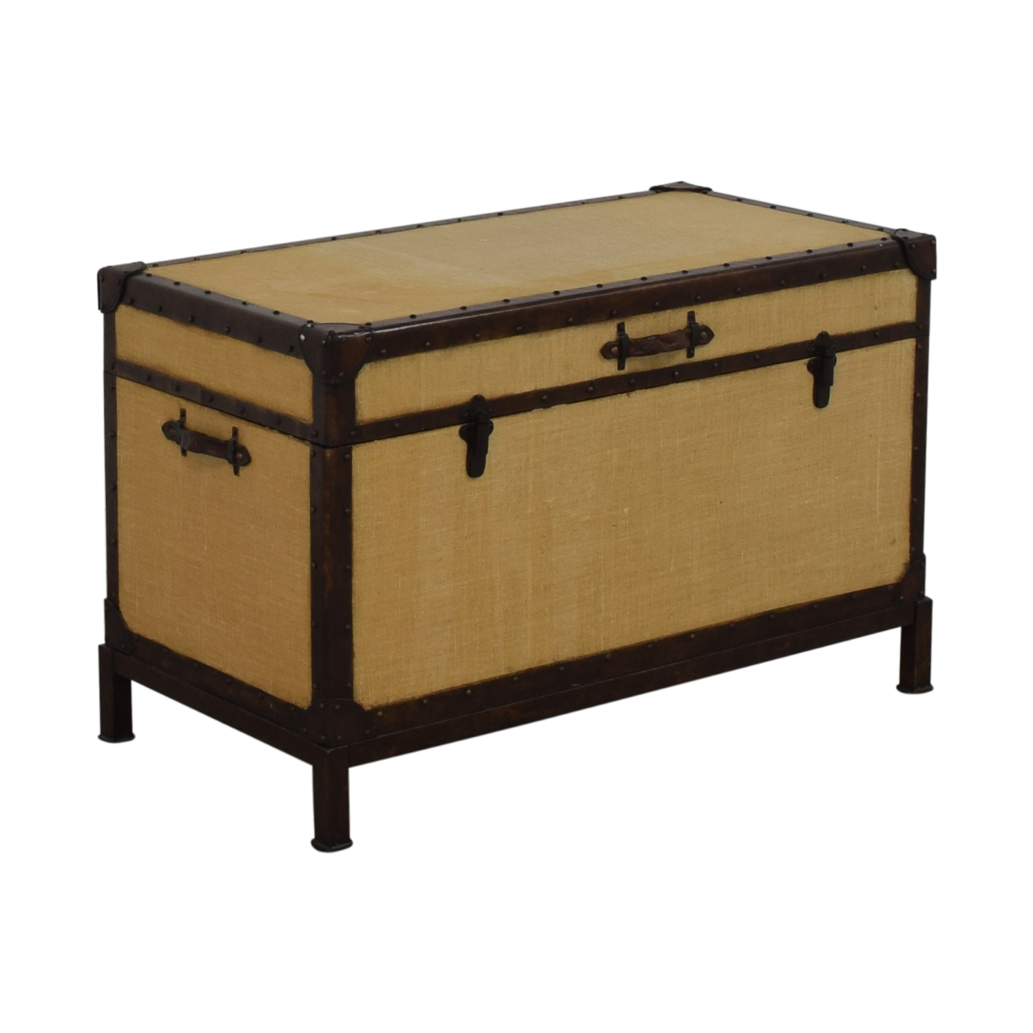 Pottery Barn Pottery Barn Redford End of Bed Trunk dimensions