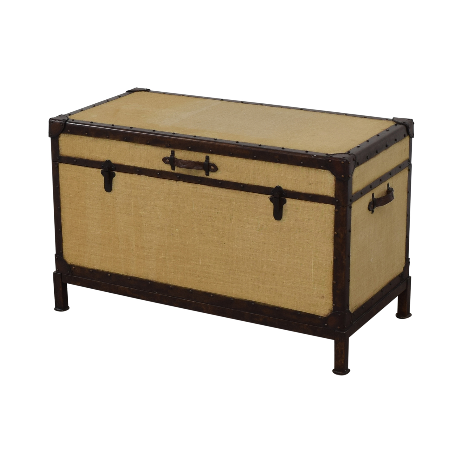 Pottery Barn Pottery Barn Redford End of Bed Trunk used