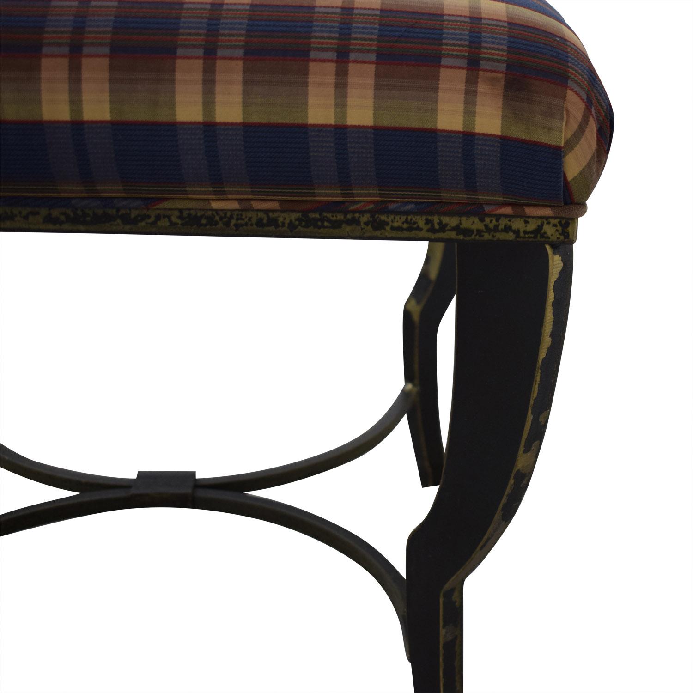 shop Maurice Villency Brogue Ottoman Maurice Villency Chairs