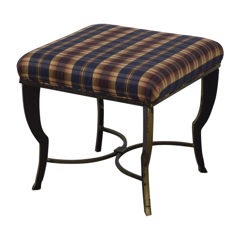 buy Maurice Villency Brogue Ottoman Maurice Villency Chairs